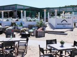 Namens de huidige exploitant dit seizoen <h10>AANGEKOCHT</h10> strandclub BOOMERANG BEACH aan het Zwarte Pad in Scheveningen