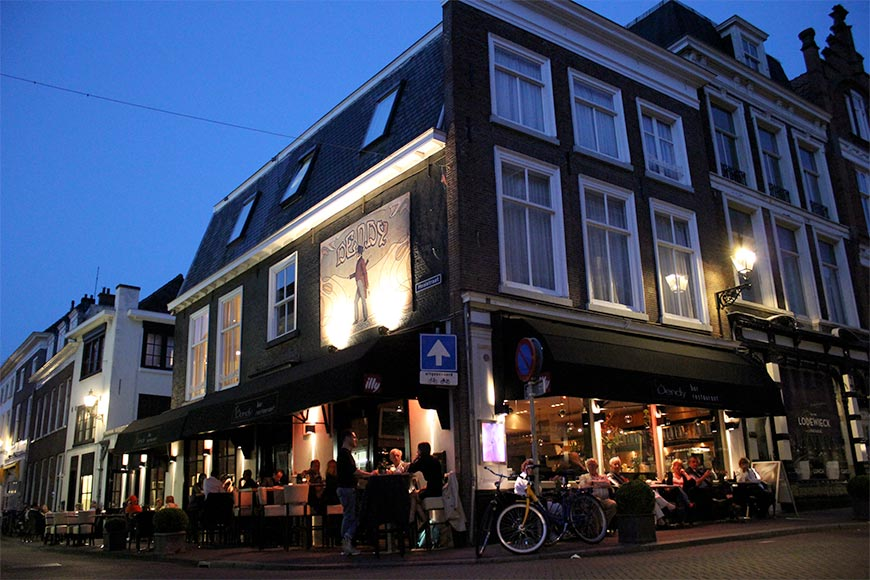"BAR/RESTAURANT "" DENDY"", <rood>-VERKOCHT- </rood>DENNEWEG IN DEN HAAG"